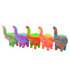 Silicone Elephant Bubblers