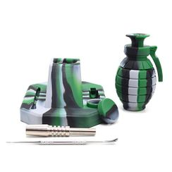 Silicone Nectar Collector Hand Grenade kit