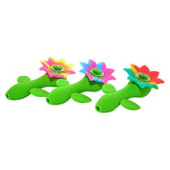 Sunflower Silicone Pipes
