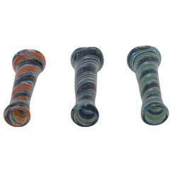 Traditional Glass Chillum Pipes