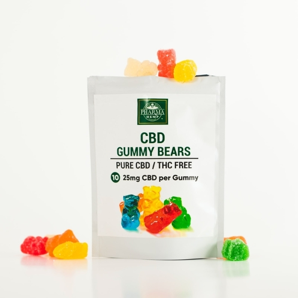 CBD edibles filled with 25mg of thc