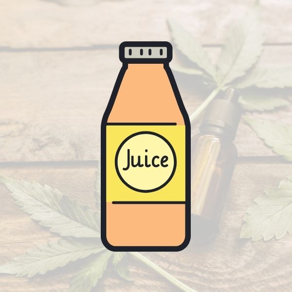 CBD Juice is a great fix for your thirst and cbd needs