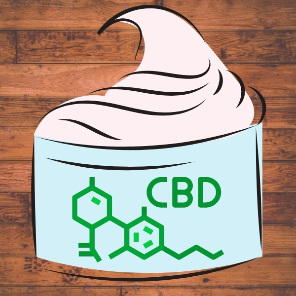 cbd lotion in a screw off package