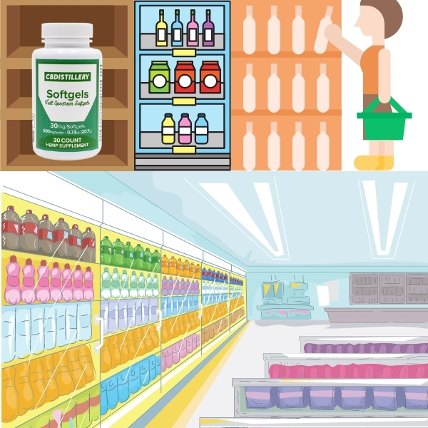 CBD with many options on the shelf there is always a correct one for you