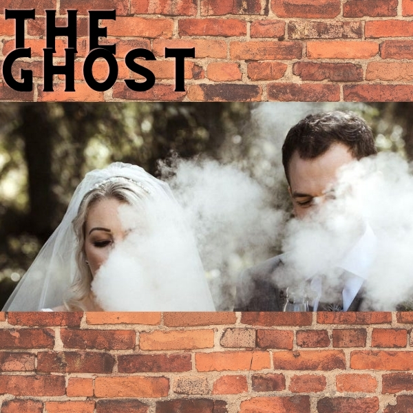 The ghost blowing vape trick