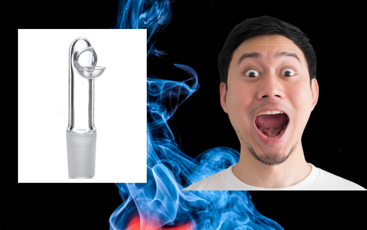 domeless nail with a man being impressed