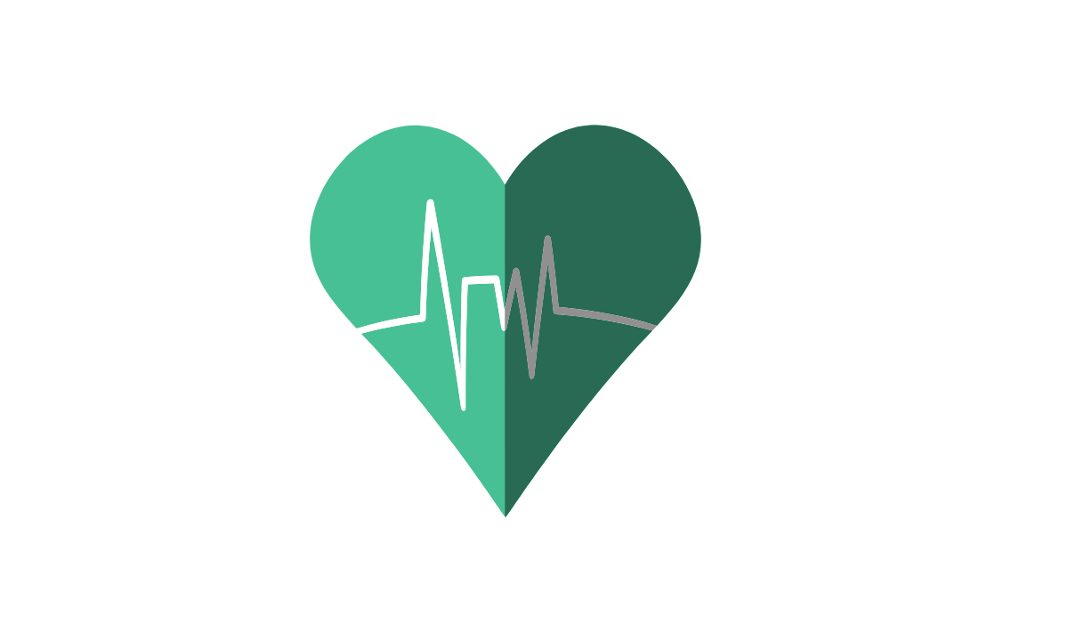 Green heart to a healthy life